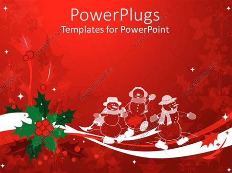 powerpoint xmas themes powerpoint template christmas theme with white