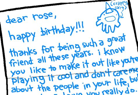 appreciation letter to friends on my birthday ms paint adventures