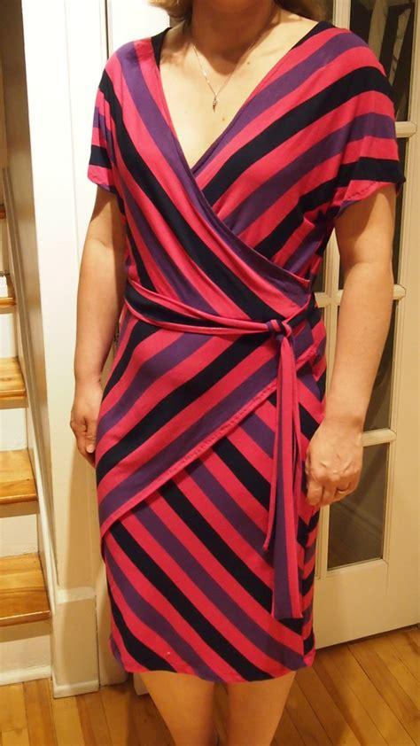 knit wrap dress pattern stylearc knit wrap dress