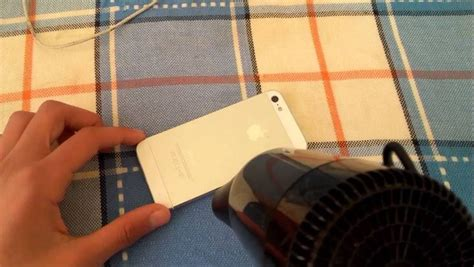 Hair Dryer Iphone iphone stuck on charging screen here s the real fix dr