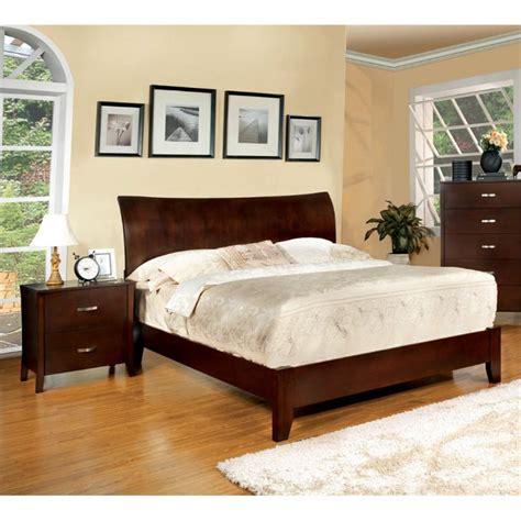 2 piece bedroom set furniture of america ownby 2 piece full panel bedroom set