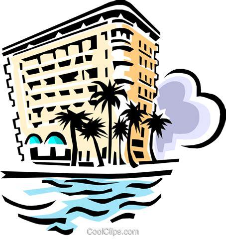 hotel clipart hotel am strand vektor clipart bild arch0406 coolclips