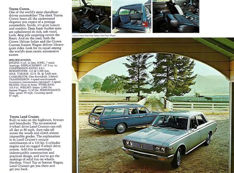 Toyota Brochures Toyota Crown Brochures And Toyota On