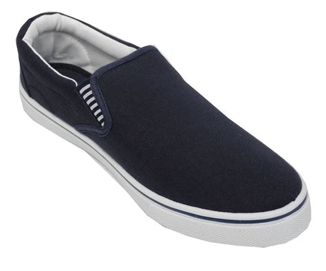 mens canvas slippers mens boys canvas boat yachting deck shoes slip on pumps
