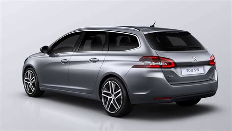 peugeot wagon peugeot 308 sw compact wagon revealed photos 1 of 10