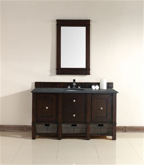 60 inch single sink vanity 60 inch single sink bathroom vanity in burnished mahogany