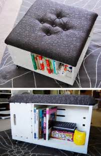 diy livingroom decor diy ottoman with storage click pic for 26 diy living room decor on a budget diy living room