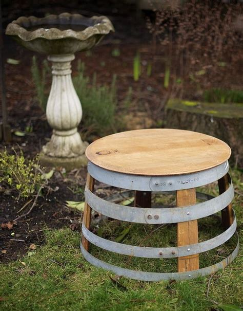 Barrel Garden Furniture by Wyatt Flatt Barrel Garden Furniture Explaining