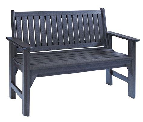black garden bench generations black garden bench from cr plastic b01 14