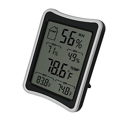 Ideal Living Room Temperature by Bengoo Indoor Humidity Monitor Thermometer Digital