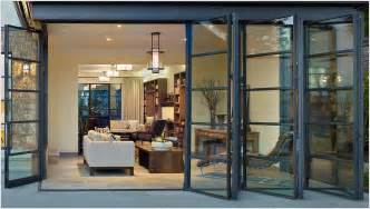 steel sliding patio doors for an open an airy feel folding sliding glass doors are a