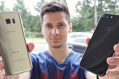 Harga Samsung S8 Dan Iphone 7 Plus samsung galaxy s8 vs iphone 7 plus mana yang lebih tahan