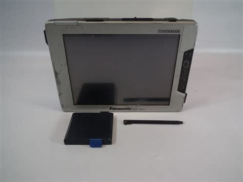 rugged touch screen monitor panasonic cf vdw07 toughbook rugged wireless display touch screen no base unit 163 52 01