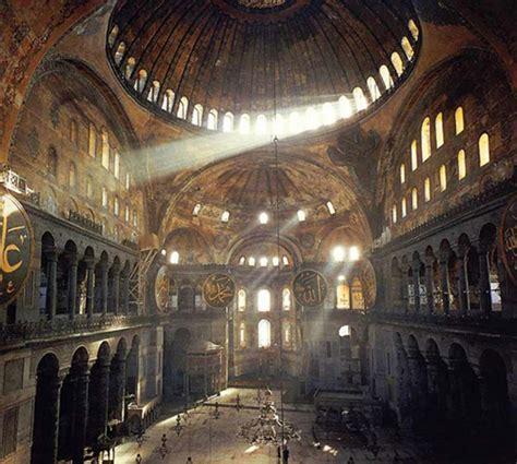 cupola di santa sofia chiesa di santa sofia a istanbul arte bizantina