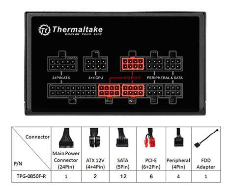 Thermaltake Toughpower Grand Rgb 850w 80 Gold thermaltake global toughpower grand rgb 850w gold