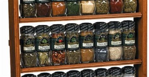 gourmet spice rack three tier wood 24 count products i