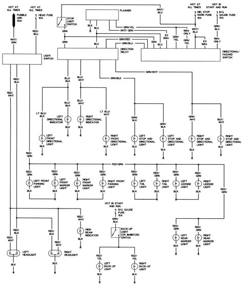 1982 mazda b2200 wiring diagram 31 wiring diagram images