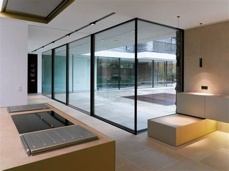 interior glass walls for homes wall glass design interior house design glass walls fall home decor