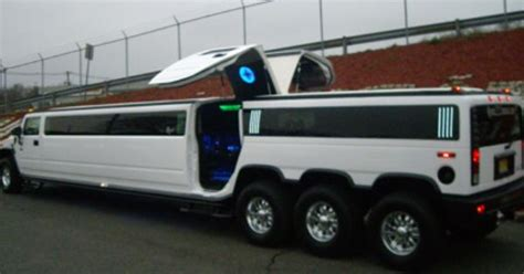 rose gold hummer 30 passenger hummer h2 triple axle limo with lamborghini