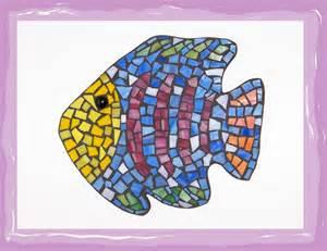 Fish Patterns, Mosaic Fish Patterns Templates and Mosaic Fish Patterns