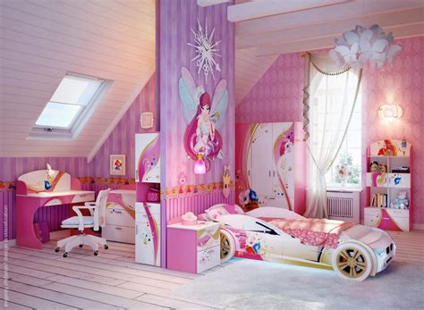 Barbie Home Decorating Games by Habitaciones Para Ni 241 As De Color Rosa