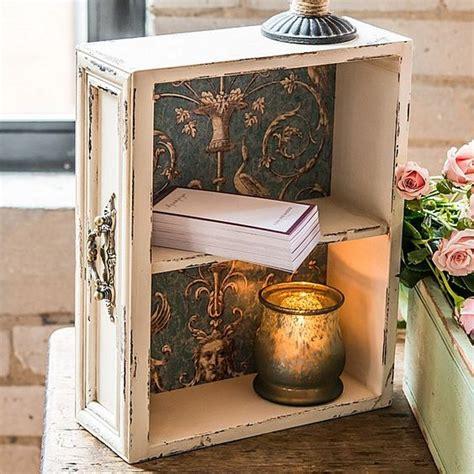comodini con cassetti riciclare cassetti vecchio comodino 20 idee creative