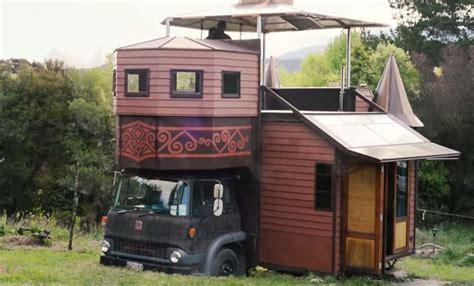 truck house solar off grid transforming castle house truck