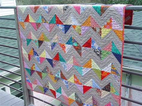 Half Triangle Quilt Patterns by The Quilting Violinist Half Square Triangle Quilt Complete