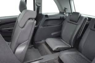 Opel Zafira 7 Seater Luggage Capacity Image Gallery Opel Zafira Luggage Capacity