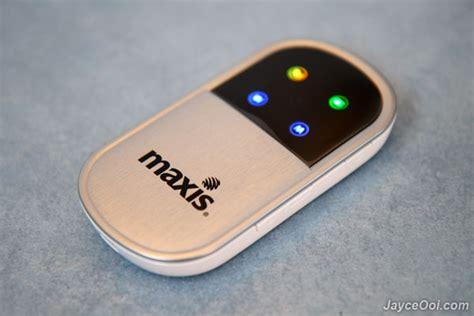 Portable Wifi Maxis maxis wifi modem e5832 review maxis10 jayceooi