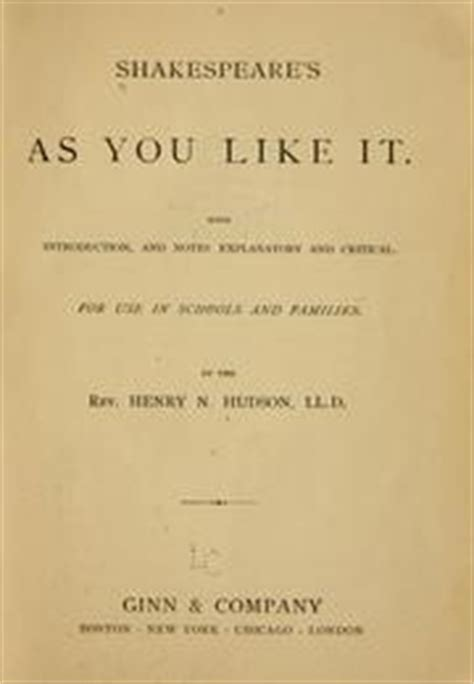 as you like it shakespeare in performance books shakespeare s as you like it 1908 edition open library