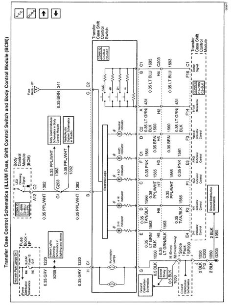 transfer wiring diagram for 2001 chevy blazer