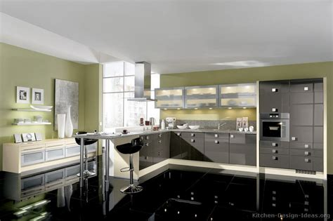 black white gray kitchen design quicua