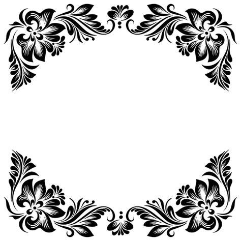 Undangan Flower 04 ornament floral retro frame vector material 04 vector