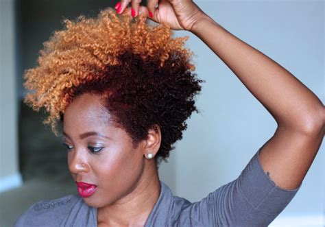 natural hairstyles with dye natural hair color trend blonde red tobnatural