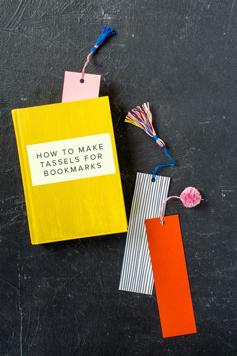how to make fan made videos diy bookmark tassels the house that lars built