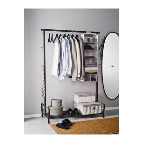 clothes rack ikea portis clothes rack black 119x60 cm ikea