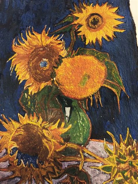 5 Paintings By Gogh by Best 25 Gogh Sunflowers Ideas On Gogh