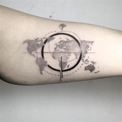 map and compass tattoo image result for compass map tattoos