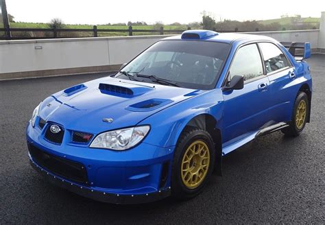 subru car for sale petter solberg s 2007 subaru wrc s12b rally car