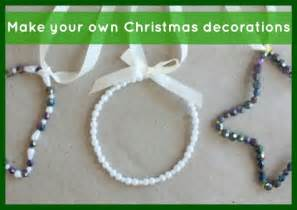christmas decorations make your own christmas