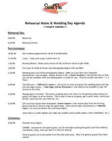 wedding day itinerary for bridal template 5 best images of wedding reception program sle
