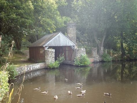 old boat house quot the old boathouse in buchan park crawley sussex quot by