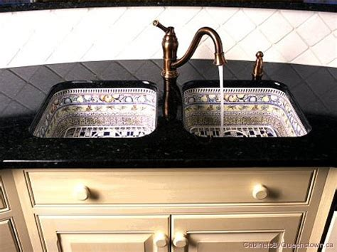 Sink Cabinets Kitchen twin sinks mexican style