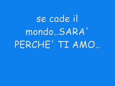io ci sar testo ricchi e poveri sar 224 perch 233 ti amo lyrics traduction fran 231 aise