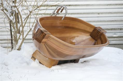 badewanne aus holz schreinerei robert l 228 ngle 187 badewanne aus holz