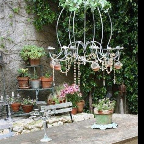 shabby chic outdoor pin by robinson on shabby chic garden