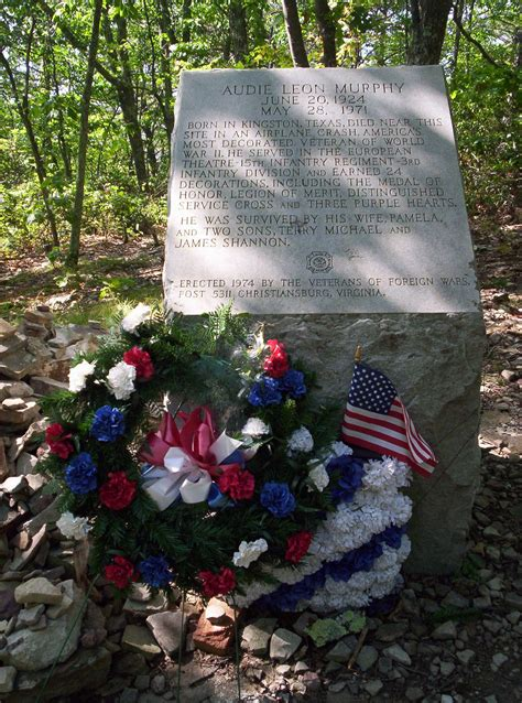 Audie Murphy Crash Site by Audie Murphy Military Wiki Fandom Powered By Wikia