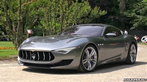 maserati alfieri red maserati alfieri concept amazing v8 sound youtube