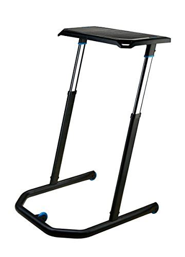 desk for indoor cycling wahoo kickr multi purpose adjustable height desk for